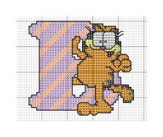 Sandrinha Ponto Cruz: Alfabeto Garfield