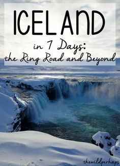 Iceland Road Trip I Iceland 7 Day Itinerary I Iceland Ring Road I Iceland Travel