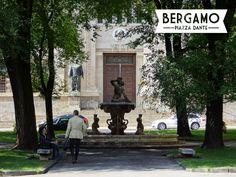 Piazza Dante in Bergamo Bassa