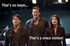 That's definitely no moon..  #trueblood