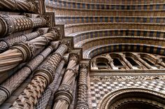 Natural History Museum Arch, South Kensington, London by martinturner, via Flickr
