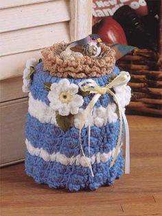 Crochet - For the Home - General Decor - Birdnest Doorstop - #FC00432