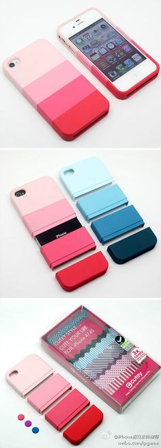 ombre phone case to match my ombre hair? :) blue of course