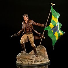 Celebrate your love of Firefly with this Malcolm Reynolds 1:6 Scale Master Series Statue. Each statue is cast in polystone and hand-painted in exquisite detail, right down to the slight smirk on his face.