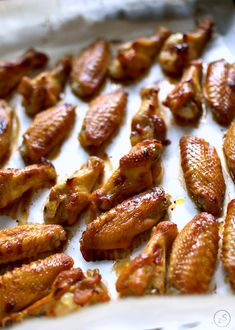 Polish Recipes, Sous Vide, Chicken Wings, Chicken Recipes, Almond, Grilling, Bbq, Dinner, Cooking