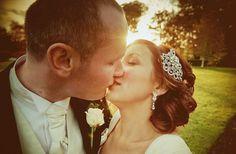Gorgeous Real Irish Wedding: Castle Venue, Vintage Bridal Style | OneWed