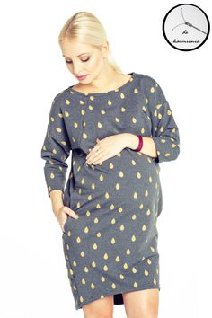 Sukienka ciążowa Clifton Gold