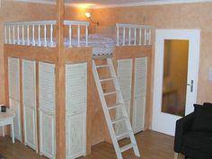 Etagenbett Wohnwagen Einbauen : Die 17 besten bilder von hochbett doppelbett hideaway bed