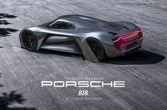 Porsche 818 le mans concept