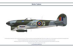 Typhoon 1B GB 266 Sqn 1 by WS-Clave.deviantart.com on @DeviantArt