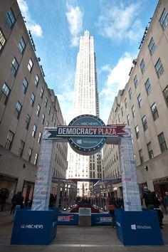 Democracy Plaza at Rockefeller Center