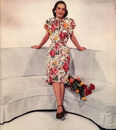40s fashion #40s #fashion #Sewcratic