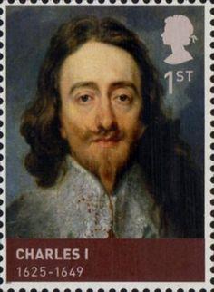 House of Stuart.                              Issued June 2010.                                 Charles I.                                             1625-1649