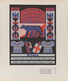 Fortunato Depero, Province Italiane, Roma, 1938