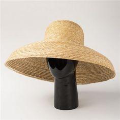 Vintage wide brim sun hats for women UV protection summer straw hats.  Chapéus Das MulheresChapéu ... d1ad0ea2367