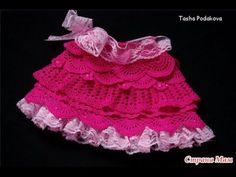 crochet SKIRT, how to make it any size, baby to adult, - YouTube