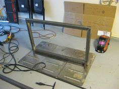 welding table plans or ideas Welding Table Diy, Welding Cart, Welding Rods, Diy Table, Welding Shop, Fold Up Chairs, Types Of Welding, Home Improvement Center, Table Frame