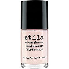 Stila All-Over Shimmer Liquid Luminizer. Lightweight and perfect for summer.