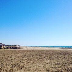 La plage de Mateille à #Gruissan me manque un peu  #latergram #beach #vacances #holidays #aude #sable #playa #plage #plages #sud #france #theplagetobe