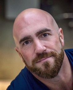 Have a look into some of the Best Bald with Beard Styles for Men Bald Men With Beards, Bald With Beard, Bald Man, Great Beards, Beard Love, Awesome Beards, Scruffy Men, Hairy Men, Handsome Man