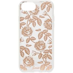 Sonix Vintage Rose iPhone 6 / 6s Plus / 7 / 8 Plus Case ($35) ❤ liked on Polyvore featuring accessories, tech accessories, phone cases, rose gold, iphone hard case, iphone cover case, clear iphone case, iphone cases and apple iphone case