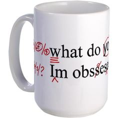 @Tiffany Tullock  this is for your future classroom desk! Funny mug for English teachers