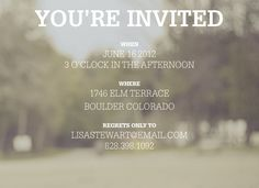 """Graduation Announcement & Invitation - """"Dreams"""" (7x5)"""