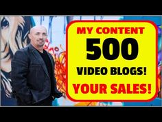 500 Video Blogs Automation - Leverage My Content To Make Your Money