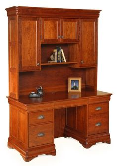 computer desk with hutch le chateau computer desk with hutch country lane furniture