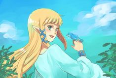 Descendent of Hylia by ワモトリ @wamotori