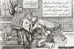 """11 Eylül 1922 Bursa'nın kurtuluşu nedeniyle basılan, Osman Gazi'nin elini öpen Mehmetçik hatıra kartı... Osman Gazi'nin hemen üstündeki levhada """"Yeşil Bursa'nın Kurtuluş Günü"""" yazıyor.  Sağdaki büyük levhada da İstiklal Marşı'nın """"Arkadaş! Yurduma alçakları..."""" diye başlayan kıtası yazılı."""