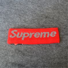 This Supreme Fleece Headband is available in 5 colors (Blue, Red, Black, Yellow and Camo). Supreme Accessories, Headbands, Street Wear, Yellow, Random, Cute, Red, Color, Head Bands