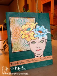 Stamp This- Blossom Beauty from #Stampendous and stencils From #DreamweaverStencils. #cre8time