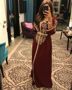 Morrocan Dress, Moroccan Caftan, Abaya Fashion, Fashion Dresses, New Hijab Style, Oriental Dress, Afghan Dresses, Ethnic Dress, Caftan Dress