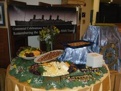 From the Titanic event at Monmouth University #drjcatering