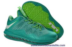 New Crystal Mint Fiberglass - Poison Green 579765-300 Easter Nike Air Max Lebron 10 Low