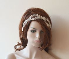 Wedding Hair Wreaths & Tiaras Wedding Tiara Bridal by ADbrda l Wedding # HairAccessories Aynur Dereli Aynur Dereli Wedding Tiara Hairstyles, Bridal Crown, Bridal Tiara, Crown Hairstyles, Headpiece Wedding, Bridal Headpieces, Hair Wreaths, Floral Hair, Wedding Hair Accessories