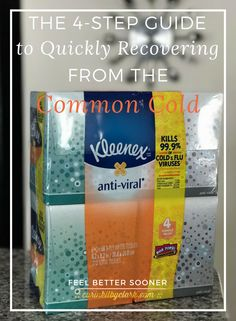 The 4-Step Guide to Quickly Recovering from the Common Cold via @carinkilbyclark @walmart #ShareKleenexCare #ad