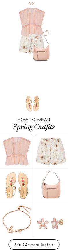 """""""Pink Top For Spring Or Summer"""" by ittie-kittie on Polyvore featuring Haute Hippie, MANGO, Lilly Pulitzer, Marc Jacobs, Sydney Evan, summerstyle, SpringStyle, springfashion, summerfashion and PinkTop"""