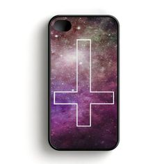 Inverted Cross Galaxy iPhone 4|4S Case