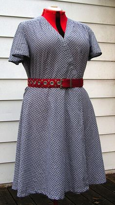 Gingham Dress Butterick 5030 - PatternReview