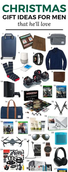 28 best Gift Ideas for Him for christmas images on Pinterest in 2018 ...