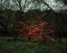 Emergent Behavior: New Swarms of Hovering Objects Photographed in Place by Thomas Jackson multiples