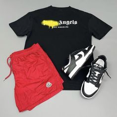 Cap Outfits, Swag Outfits Men, Summer Outfits Men, Girly Outfits, Trendy Outfits, Street Style Outfits Men, Black Men Street Fashion, Dope Fashion, Tomboy Fashion