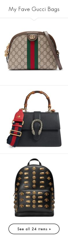 """""""My Fave Gucci Bags"""" by sevilalovsadli ❤ liked on Polyvore featuring bags, handbags, tote bags, borse, gucci, leather tote purse, pink tote, zippered tote bag, leather zip tote and zip tote"""