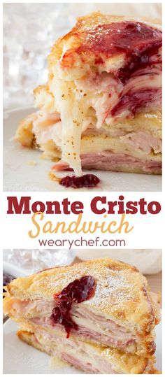 Have you ever tried a monte cristo sandwich? It's a perfect balance of sweet and savory!