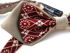Make A Bow Tie, Clip On Bow Ties, Ideas Bautizo, Bow Tie Tutorial, Bowtie Pattern, Sewing Men, African Accessories, Cool Ties, Wedding Ties
