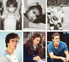 Photo: Ian Somerhalder Nina Dobrev and Paul Wesley Then and Now