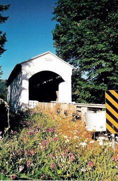 Mosby Creek Bridge, Lane County Oregon