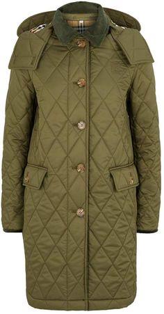 Burberry Quilted Coat Flight Bomber Jacket, Coats For Women, Military Jacket, Burberry, Winter Jackets, Fashion, Girls Coats, Winter Coats, Moda